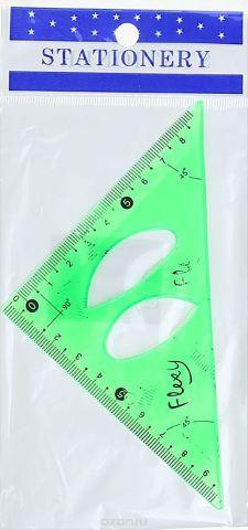 Угольник гибкий цвет зеленый 10 см 1302056