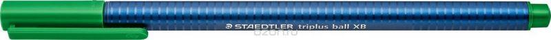 Staedtler Шариковая ручка Triplus Ball цвет чернил зеленый