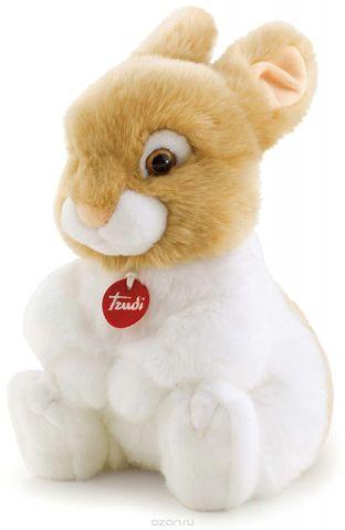 Trudi Мягкая игрушка Кролик Оливер сидячая 30 см