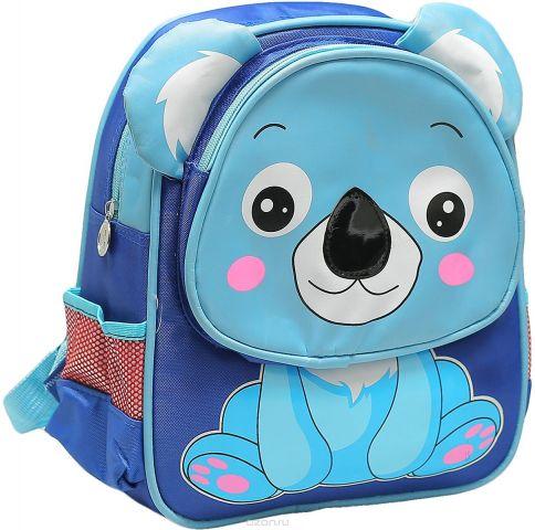 Рюкзак детский Мишка цвет синий 1661199