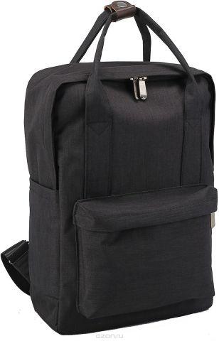 Рюкзак-сумка детский Джинс цвет черный 2820257