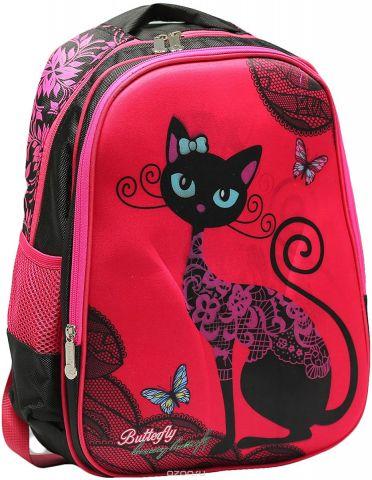 Рюкзак детский Кошечка цвет розовый 2820265