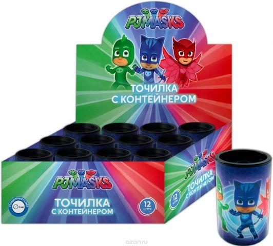 PJ Masks Точилка с контейнером цвет синий 34081