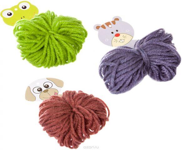 Bondibon Набор для изготовления игрушки Забавные зверушки! Собака Лягушка Кошка