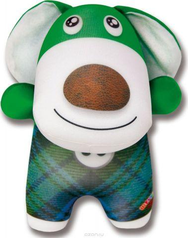 Штучки, к которым тянутся ручки Антистрессовая игрушка Пес Пуговкин 2 зеленый
