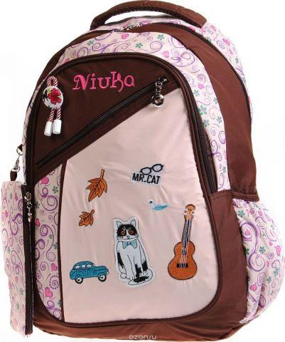Vittorio Richi Рюкзак детский с наполнением цвет бежевый коричневый K05NK172_1