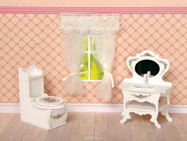 ЯиГрушка Набор мебели для кукол Туалетная комната 2 предмета
