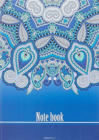 Бриз Колледж-тетрадь 160 листов цвет синий