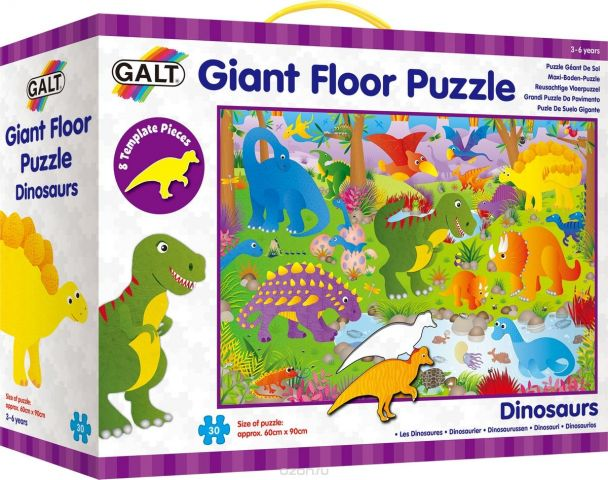 Galt Пазл гигант Динозавры A0866B