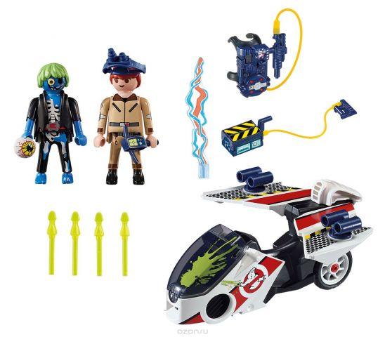 Playmobil Игровой набор Охотники за привидениями Стэнц с небесным велосипедом