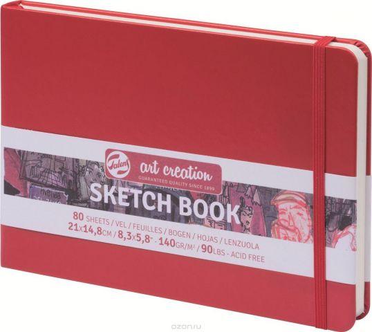 Royal Talens Блокнот для зарисовок Art Creation цвет красный 80 листов 9314205M