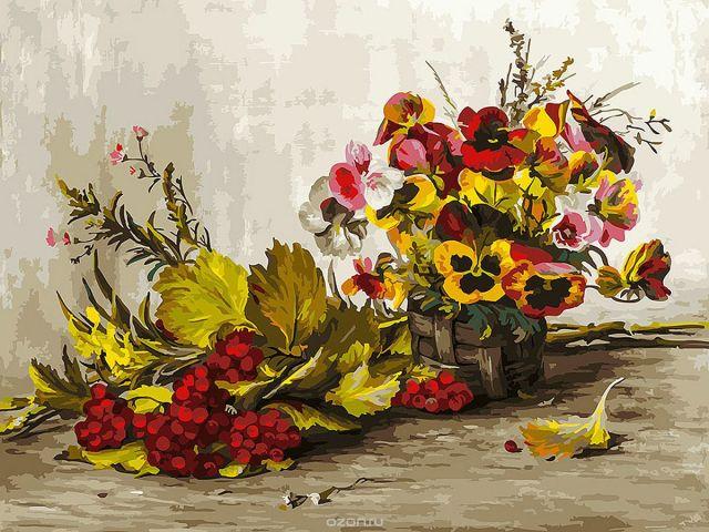 """Набор для рисования Белоснежка """"Осень"""", 30 х 40 см"""