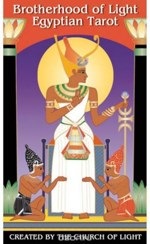 Карты Таро U.S. Games Systems Brotherhood of Light Egyptian Tarot