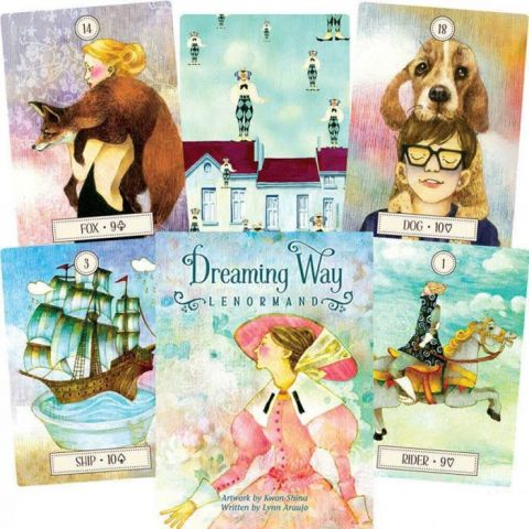Карты Таро U.S. Games Systems Dreaming Way Lenormand