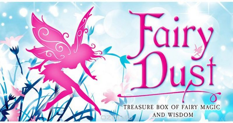 Карты Таро U.S. Games Systems Inspirational Fairy Dust cards