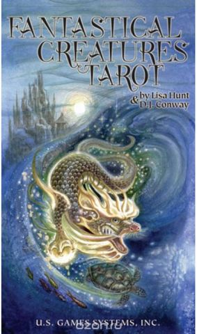 Карты Таро U.S. Games Systems Fantastical Creatures Tarot
