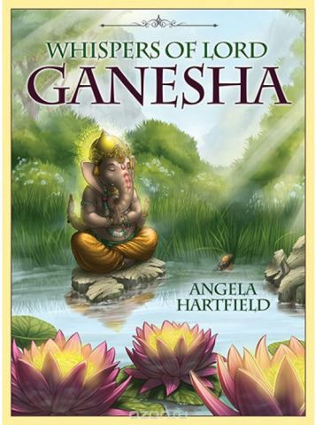 Карты Оракул Blue Angel Oracle Cards Whispers of Lord Ganesha
