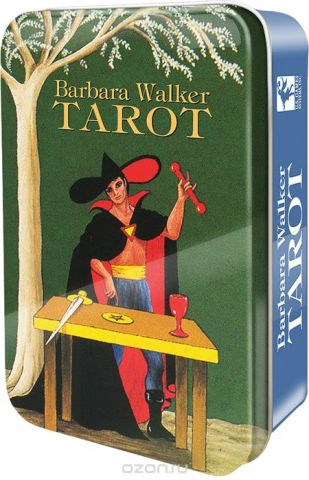 Карты Таро U.S. Games Systems Barbara Walker Tarot in a Tin