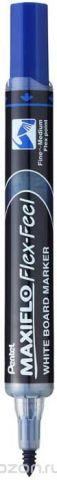 Маркер для досок Pentel Maxiflo, толщина 1.0-5.0 мм, цвет чернил: синий