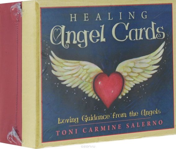 Карты Оракул Blue Angel Oracle cards Healing Angel