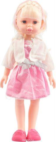 """Кукла """"Карапуз"""", озвученная, цвет платья: розовый, 32 см"""