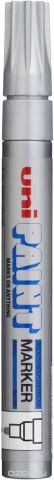 Маркер Uni, PX-30 цвет: серебристый, 2,2-2,8 мм