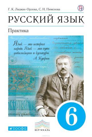 Русский язык. Практика. 6кл. Учебник