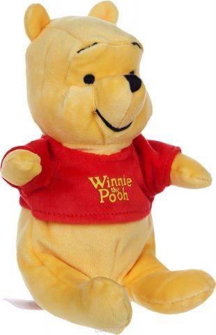 Nicotoy Мягкая игрушка Медвежонок Винни 20 см