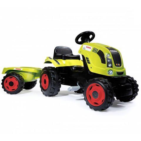 Smoby 710114 Трактор педальный XL с прицепом, CLAAS