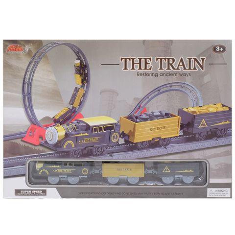HK Industries 4118 Набор Железная дорога (мертвая петля, поворот с подъемом)