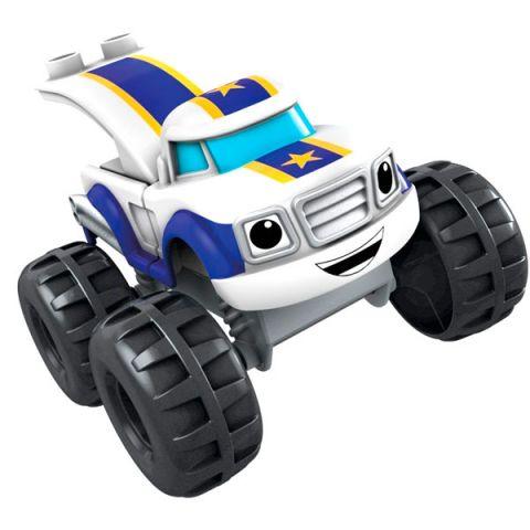 Mattel Mega Bloks DXF22 Вспыш: герои мультфильма с аксессуарами