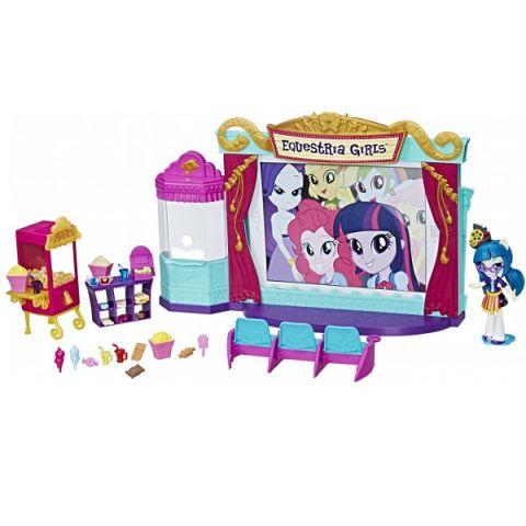 "Hasbro My Little Pony C0409 Equestria Girls Игровой набор мини-кукол ""Кинотеатр"""