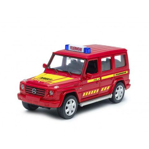Welly 39889GF Велли Модель машины Mercedes-Benz G-CLASS Пожарная