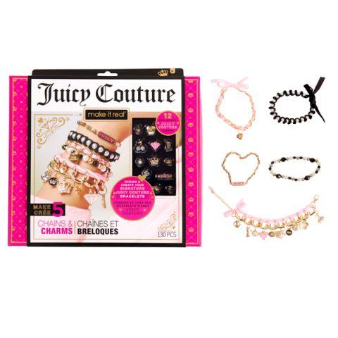 """Juicy Couture 36837 Джуси Кутюр Набор для создания бижутерии """"Стильные браслеты"""""""