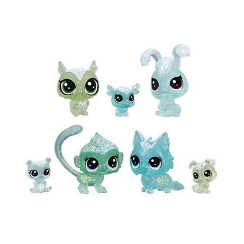 """Hasbro Littlest Pet Shop E5483 Игровой набор 7 петов """"Холодное царство"""""""