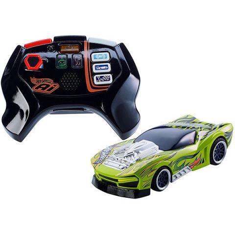 Mattel Hot Wheels FBL85 Хот Вилс Игрушка HW AI Р/у машинка и пульт для Умной трассы