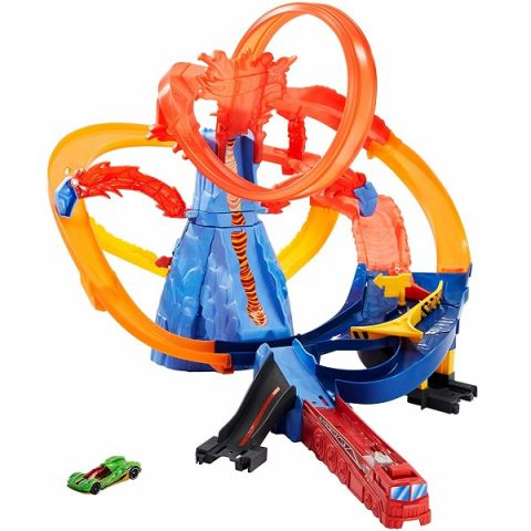 "Mattel Hot Wheels FTD61 Хот Вилс Игровой набор ""Вулкан"""