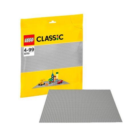 LEGO Classic 10701 Конструктор ЛЕГО Классик Строительная пластина серого цвета