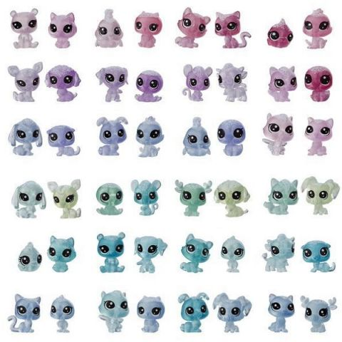 "Hasbro Littlest Pet Shop E5482 Литлс Пет Шоп Петы-парочки ""Холодное царство"""