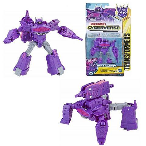 Hasbro Transformers E1884/E1903 Трансформер КИБЕРВСЕЛЕННАЯ 14 см Шоквейв