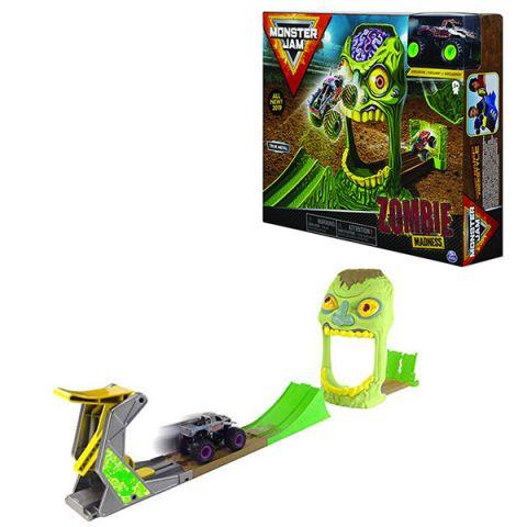 "Monster Jam 6045029-ZOM Монстр Джем игровой набор машинок ""Зона Зомби"" Zombie"
