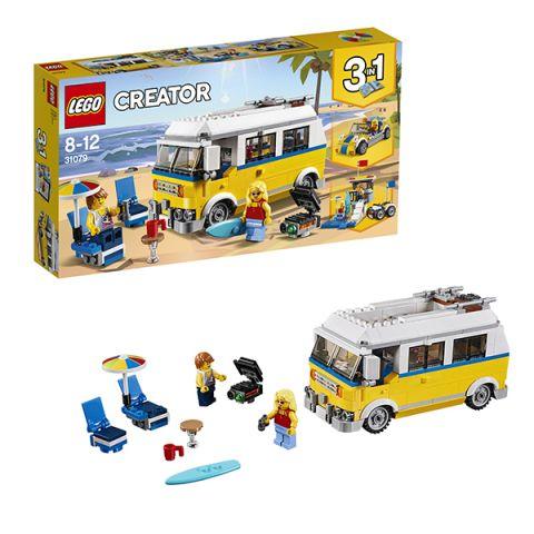 LEGO Creator 31079 Конструктор ЛЕГО Криэйтор Фургон сёрферов