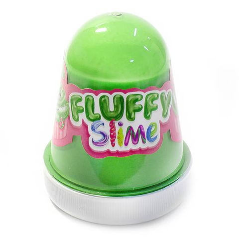 "KiKi FFL001 ""Monster's Slime Fluffy"" Тёмно-зеленый (Арбуз)"