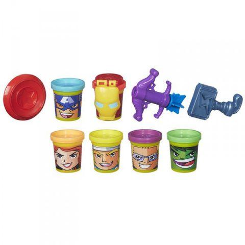 Hasbro Play-Doh B5528 Коллекция героев Мстителей