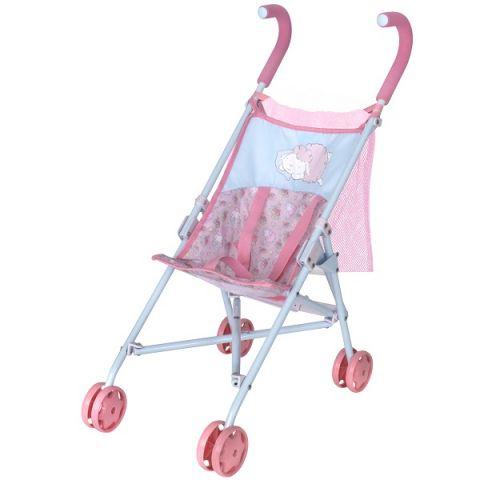 Zapf Creation Baby Annabell 1423570 Бэби Аннабель Коляска-трость с сеткой 2018